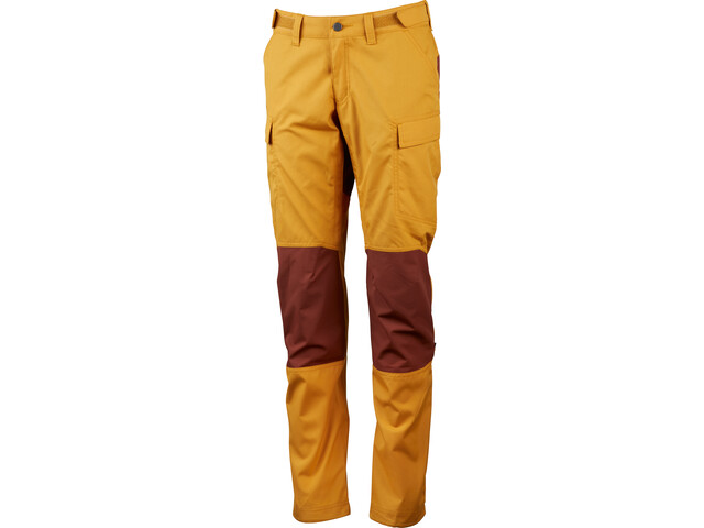 Lundhags Vanner Pantaloni Donna, gold/rust